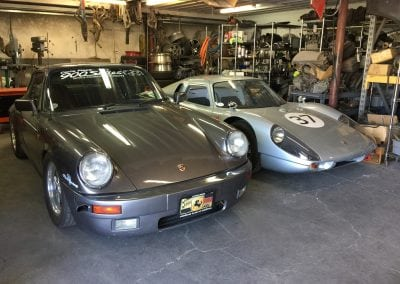 1986 911 Carrera and a 1965 904 Tribute