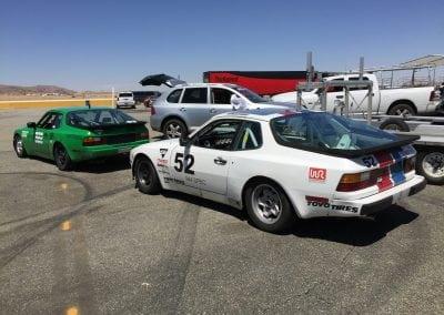 1983 944Spec race car #52