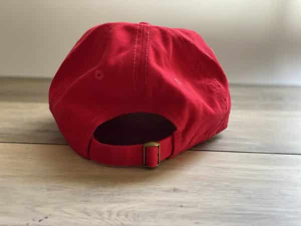 The900Series Red Hat Back Clip
